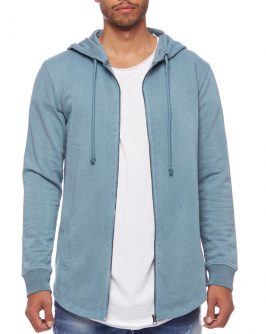 TERRY PARKA – BLUE
