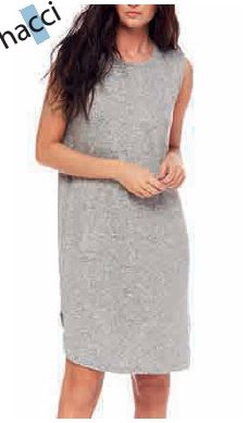 Tank Dress - Grey Melange