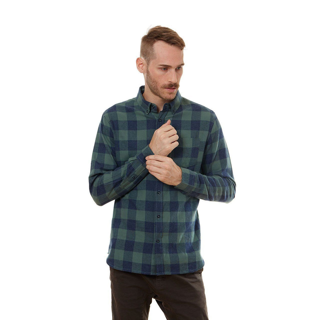 Roy Button Down Flannel Shirt