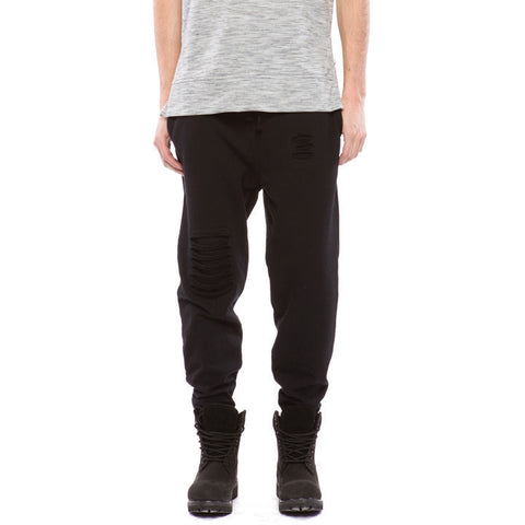 Milo-6071 - Distressed Sweatpants - Anonymous L.A.