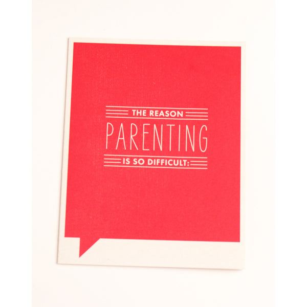 Parenting Card - Anonymous L.A. - 1