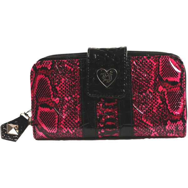 Loungefly Patent Snake Skin Embossed Wallet - Anonymous L.A. - 1