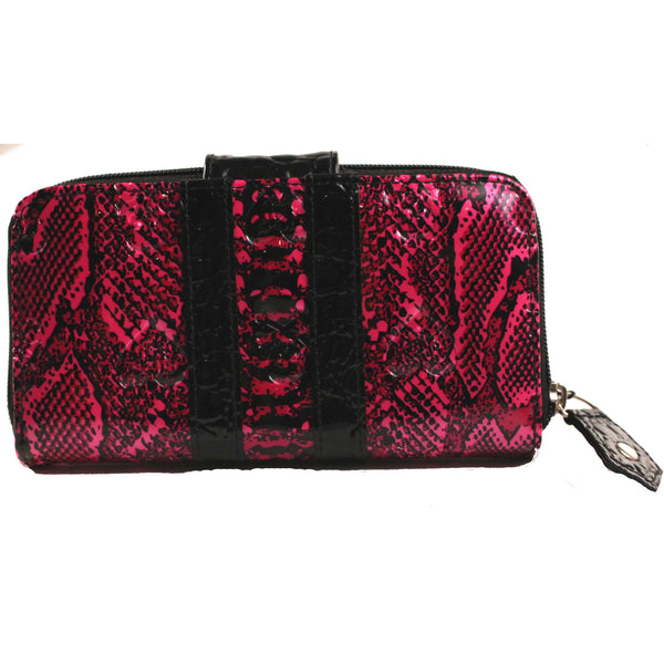 Loungefly Patent Snake Skin Embossed Wallet - Anonymous L.A. - 2