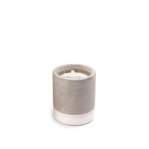 Tobacco & Patchouli 3.5 oz. Concrete Candle