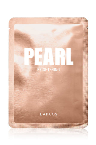 Lapcos Metallic Sheet Mask Individual - Pearl