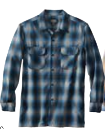 WORSTED WOOL BOARD SHIRT
