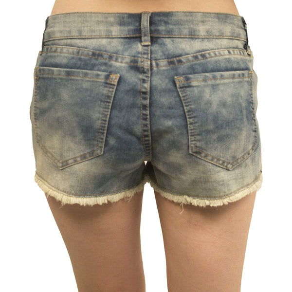 Project 18 Distressed Denim Cut Offs - Anonymous L.A. - 2