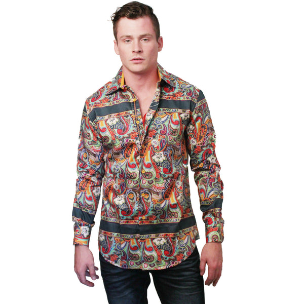 Paisley Dress Shirt - Anonymous L.A. - 2