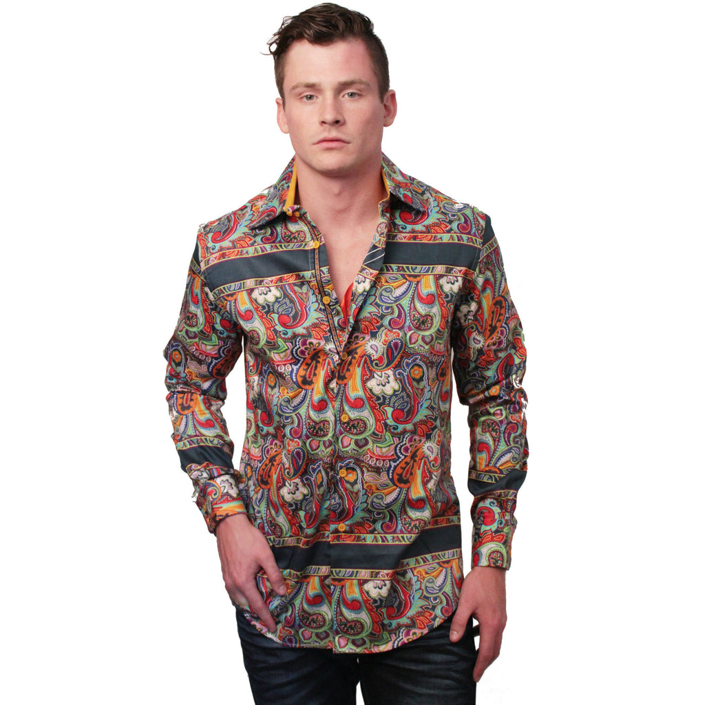 Paisley Dress Shirt - Anonymous L.A. - 1