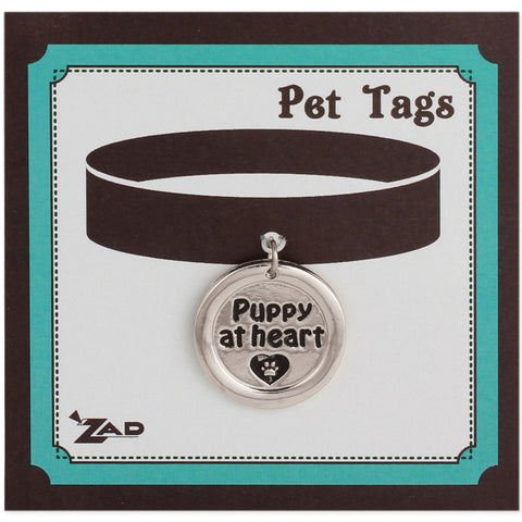 Puppy at Heart Silver Dog Tag - Anonymous L.A.