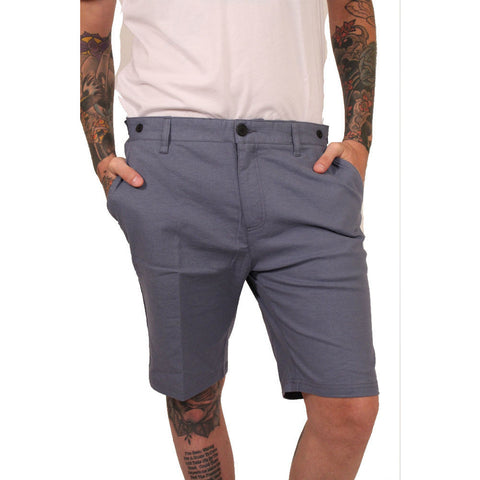 Civil Society Navy Hudson Linen Shorts - Anonymous L.A. - 1