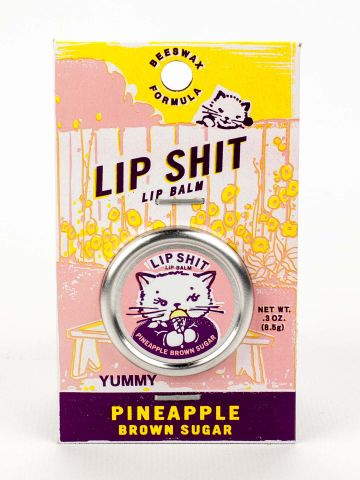 Lip Shit Lip Balm-Pineapple Brown Sugar