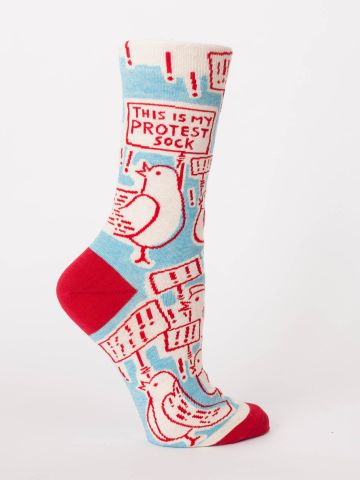 This Is My Protest Crew Socks