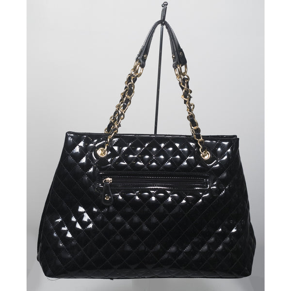 Embossed Bag W/ Gold Chain - Anonymous L.A. - 2