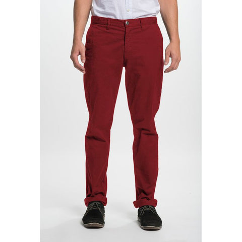 Red Polo Chino Pants - Anonymous L.A.