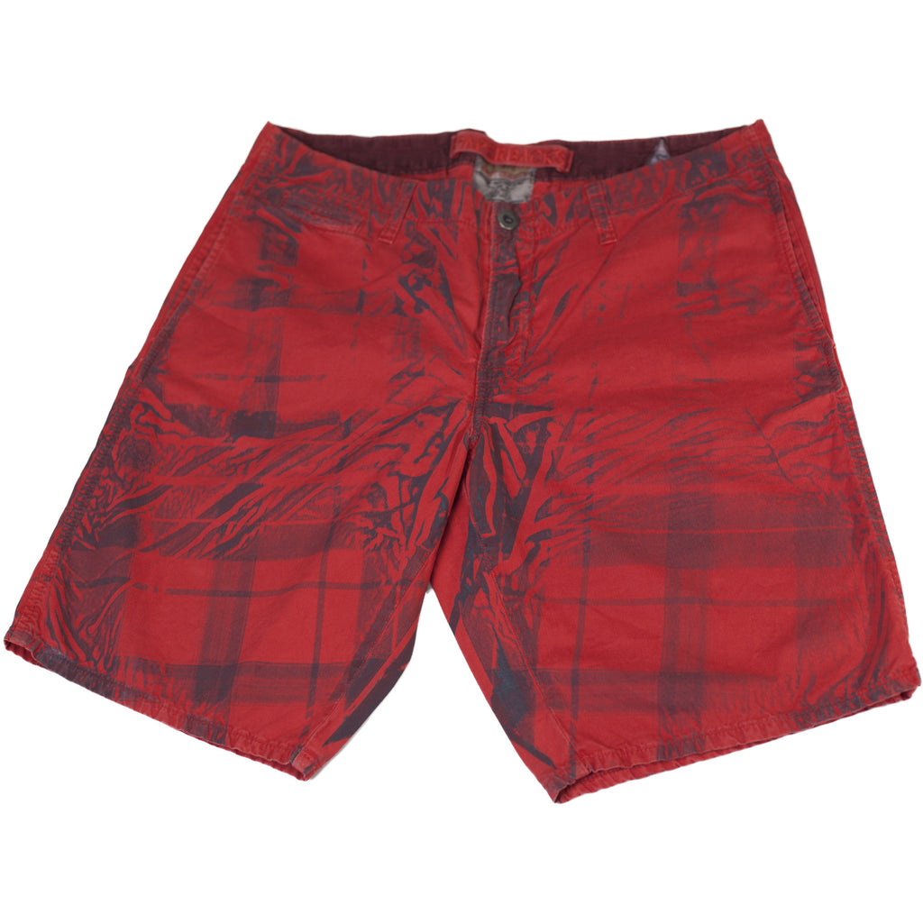 Red Splat Shorts - Anonymous L.A.