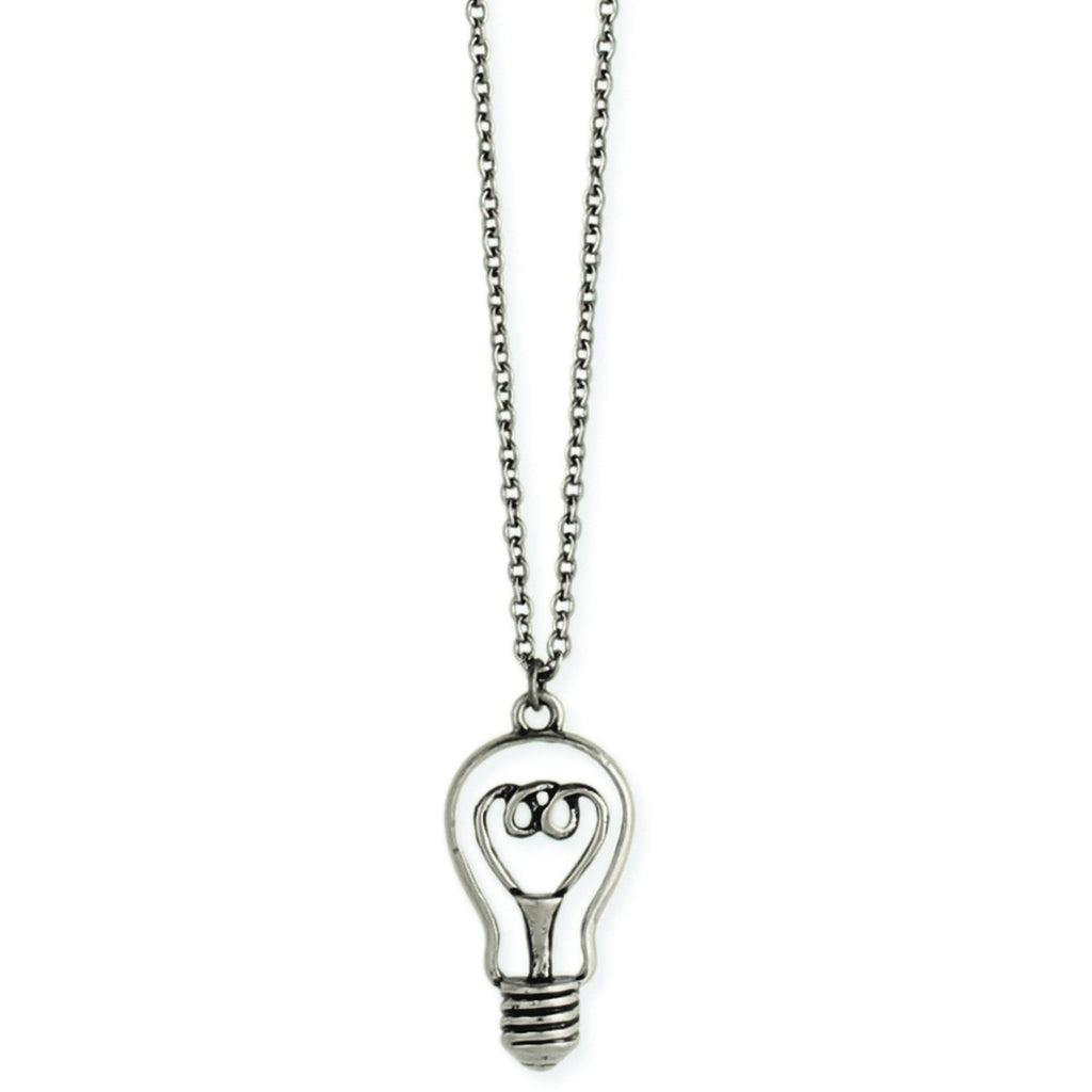 Retro Light Bulb Necklace - Anonymous L.A.