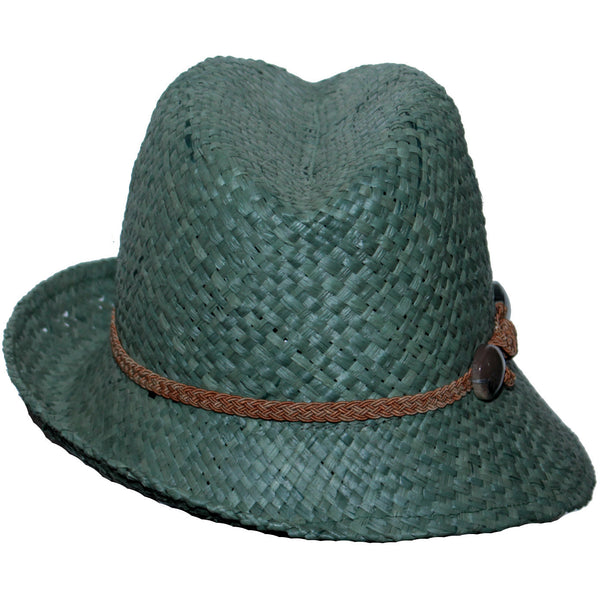 Finley Woven Fedora - Anonymous L.A. - 8