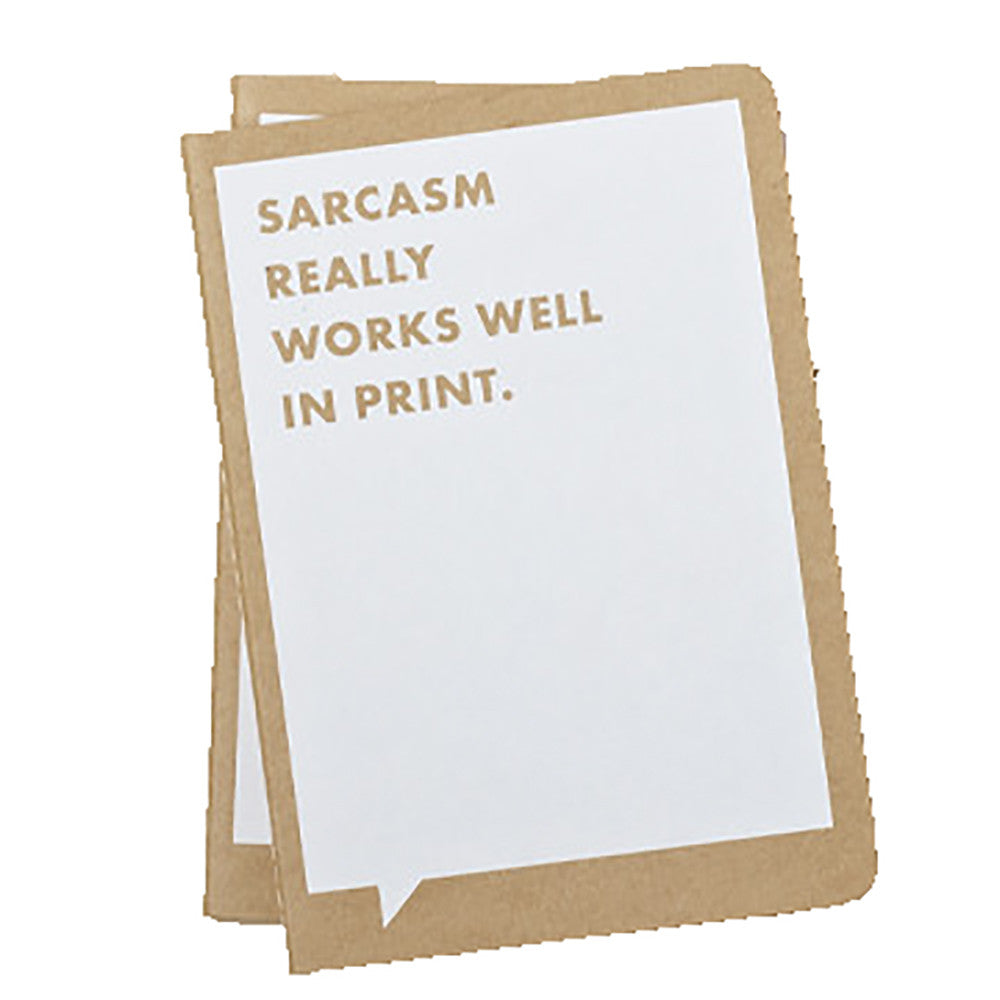 Sarcasm Really Works Journal - Anonymous L.A.