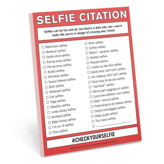 Selfie Citation