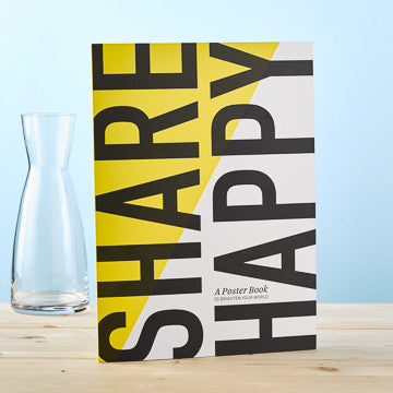 Share Happy Poster Book - Anonymous L.A. - 1