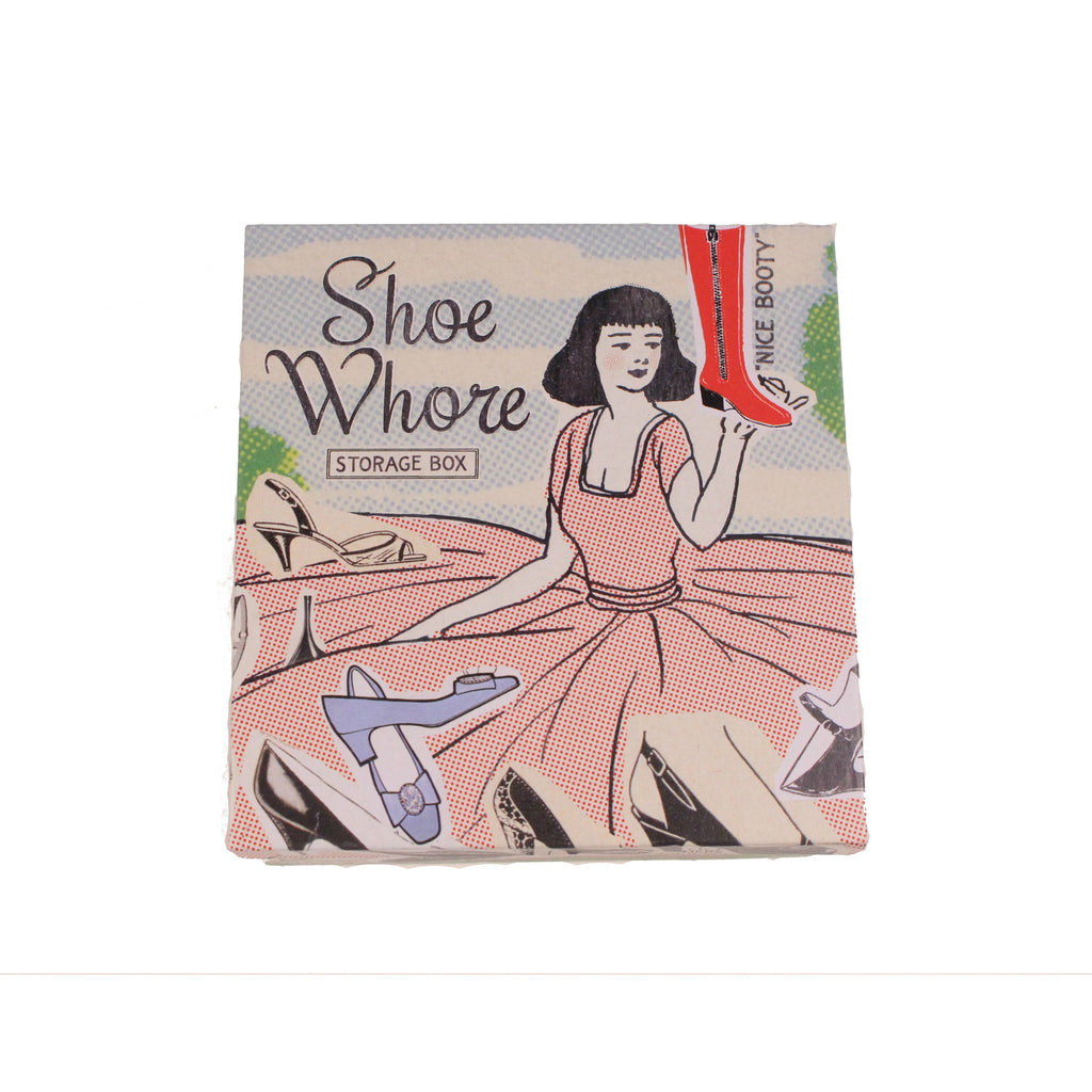 Shoe Whore Petite Cigar Box by Blue Q - Anonymous L.A. - 1