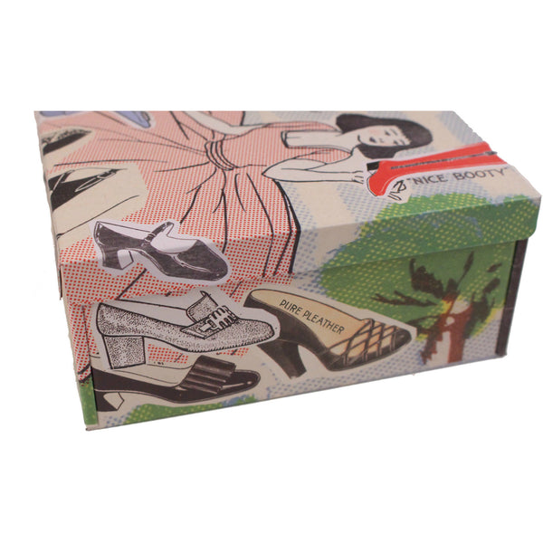 Shoe Whore Petite Cigar Box by Blue Q - Anonymous L.A. - 2
