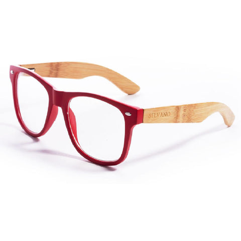 Silvano Red & Clear Glasses - Anonymous L.A.