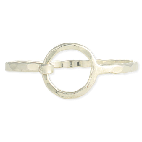 Circle of Trust Hammered Bangle