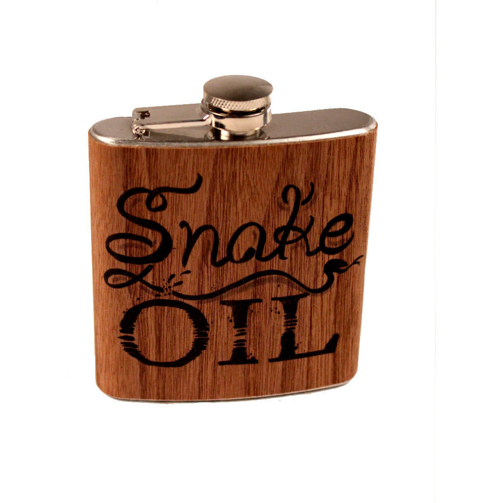 Spitfire Girl Snake Oil Flask - Anonymous L.A.