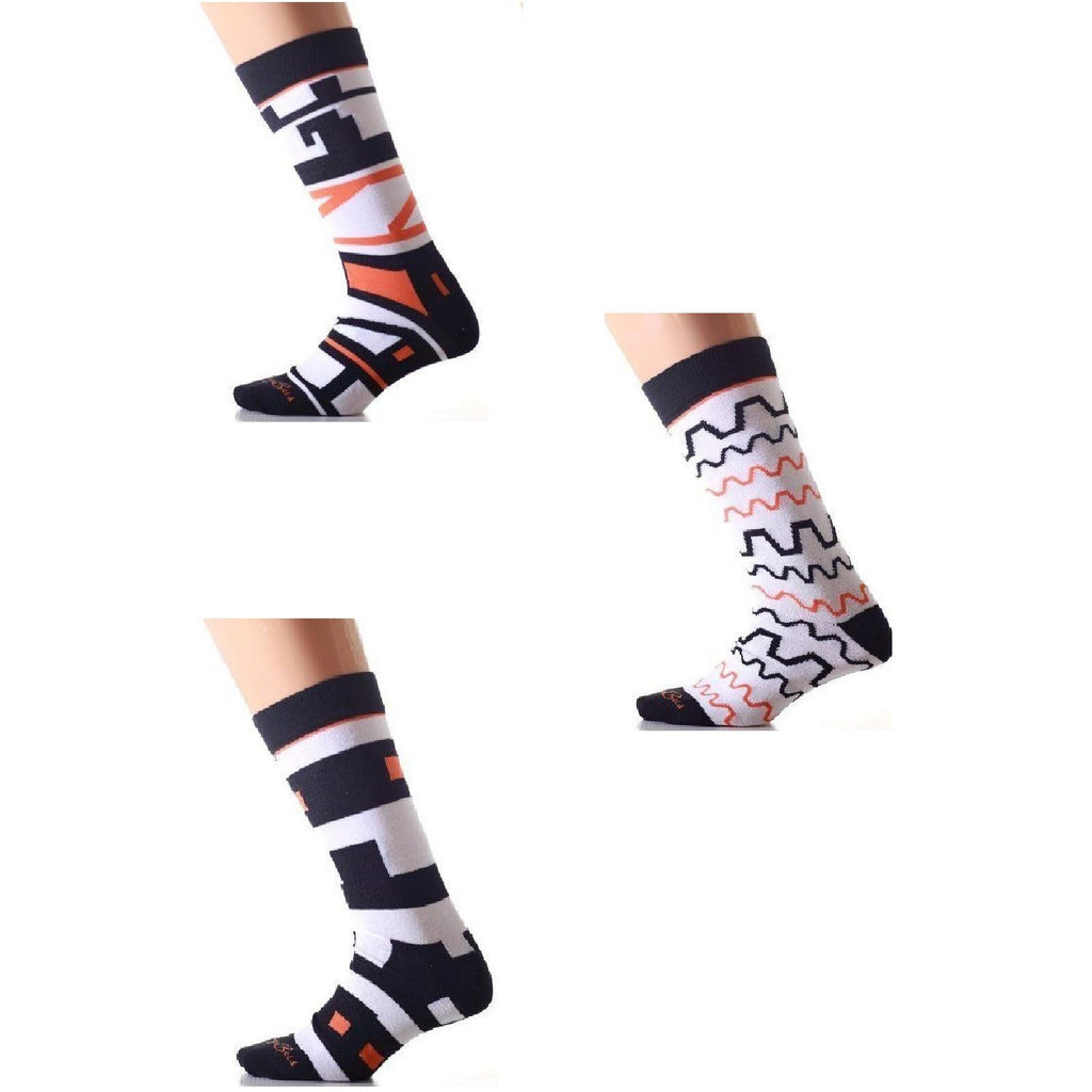 Logo Letters Knee High Socks - Anonymous L.A.