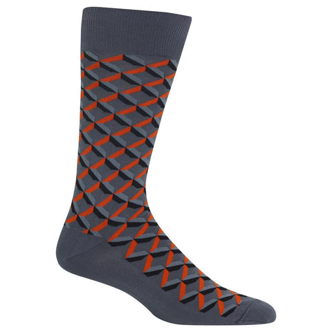 Men's Shadow Geo Socks