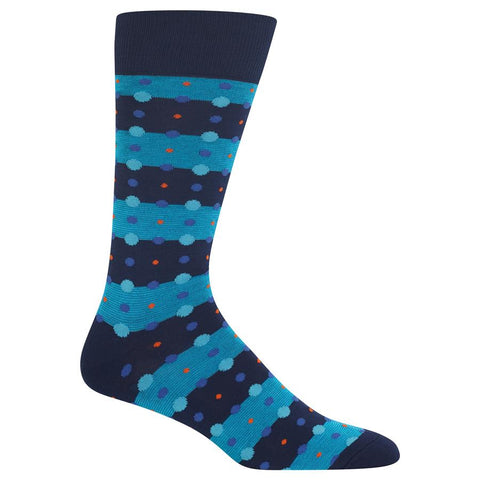 Men's Feed Stripe Dots Socks