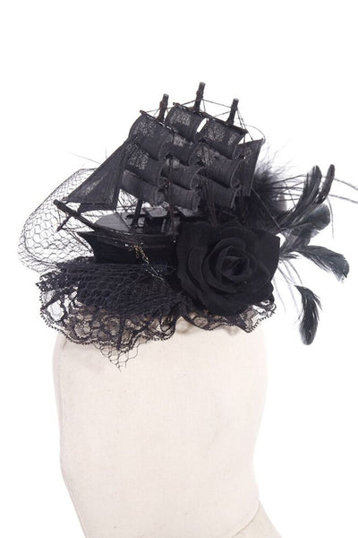 Gothic headdress w/ Ship