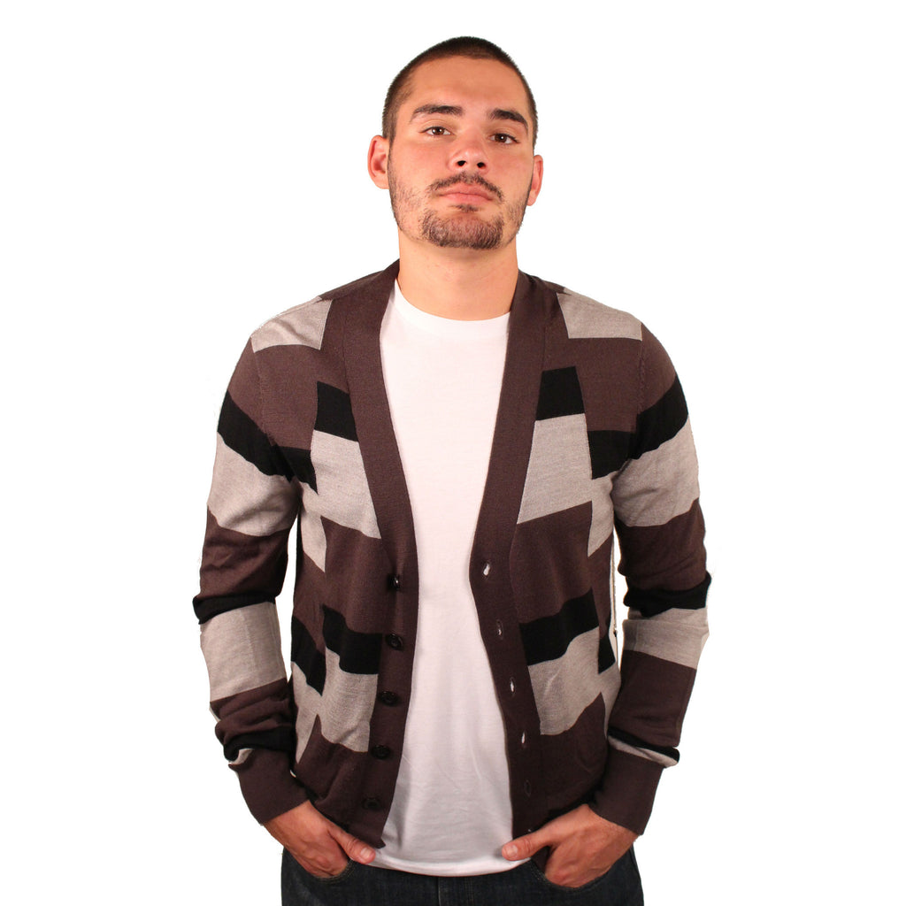 Lordz & Legendz Geometric Wool Sweater - Anonymous L.A.