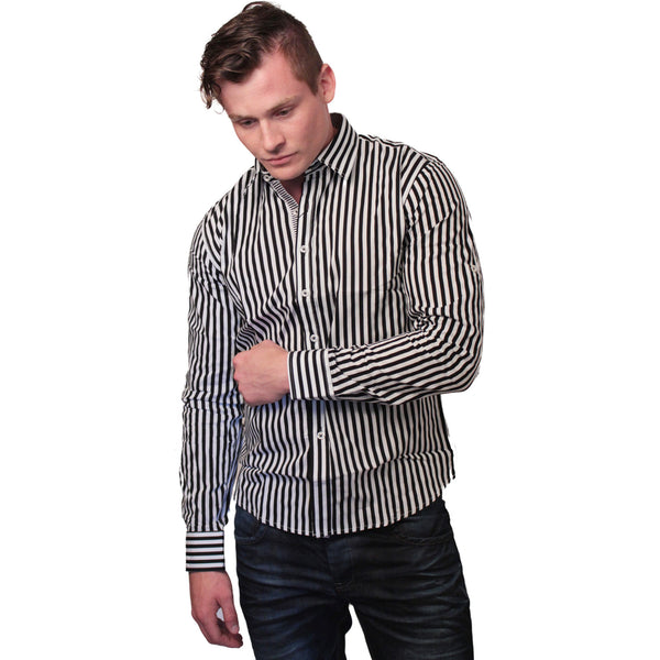 CD-4217 Stripe Dress Shirt - Anonymous L.A. - 3