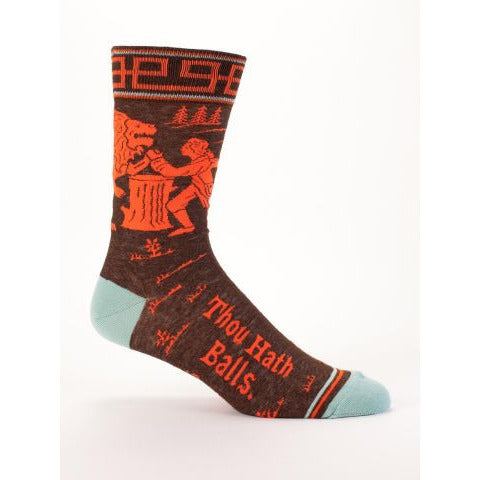 Thou Hath Balls Men's Socks - Anonymous L.A.