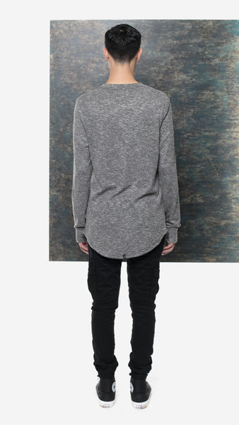 Uppercut Sweater Mix Grey