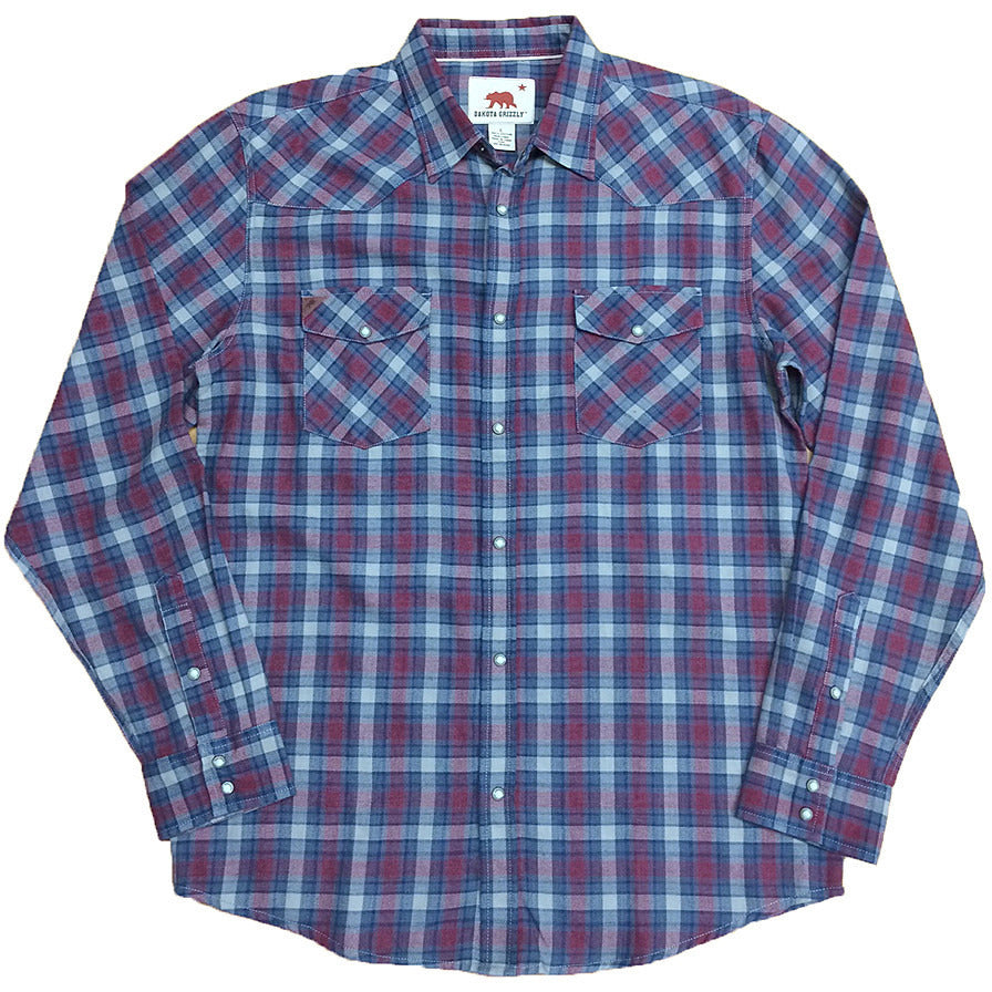 Dakota Grizzly Trevor Button Up - Anonymous L.A.