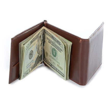3 Fold Money Clip Wallet - Anonymous L.A. - 3