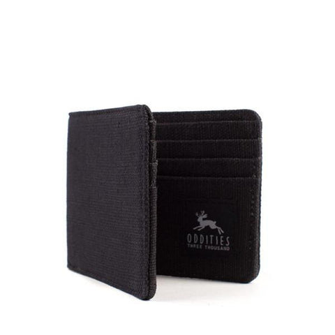 Black Hemp Wallet