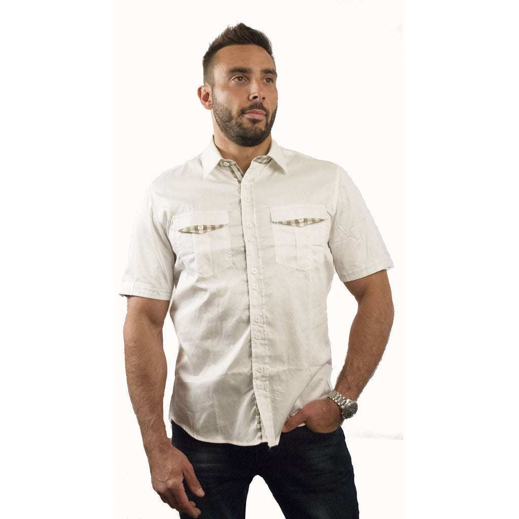 FSS3435  PLA Mens' Short Sleeve shirt - Anonymous L.A.