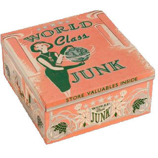 World Class Junk Mini Cigar Box - Anonymous L.A.
