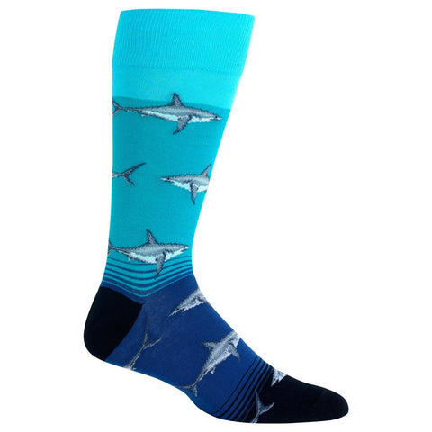 Men's Great White Sharks Crew Socks