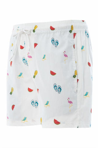 MS-Beachy Cabana Short W/Drawstring
