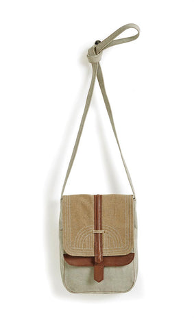 OAKLEY CROSSBODY BAG - NATURAL