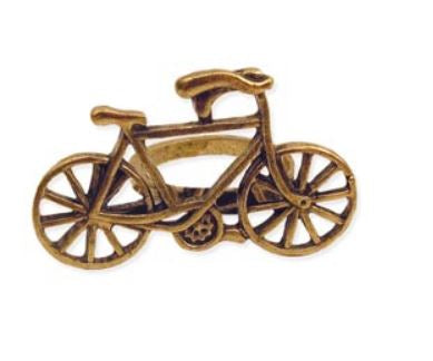 Gold Metal Bicycle Ring