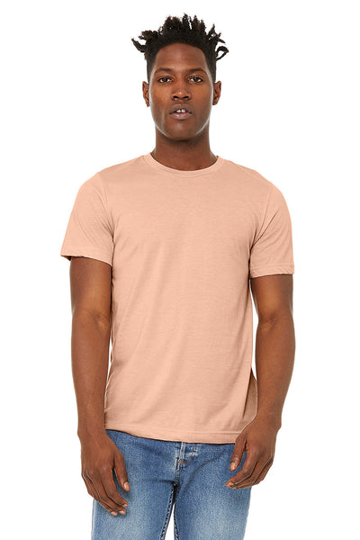 Men's Sueded Tee - Heather Peach