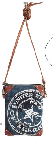 U.S.A. Cross Body Bag