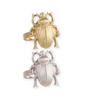 Scarab Beetle Ring
